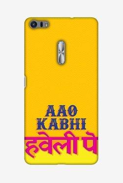 Amzer Aao Kabhi Hard Shell Designer Case For Asus ZenFone 3 Ultra