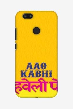 Amzer Aao Kabhi Hard Shell Designer Case For Mi A1/Mi 5X