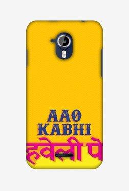 Amzer Aao Kabhi Hard Shell Designer Case For Micromax Canvas Magnus