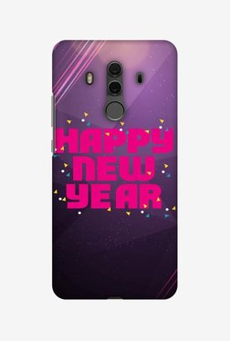 Amzer Happy New Year Designer Case For Huawei Mate 10 Pro