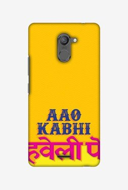 Amzer Aao Kabhi Hard Shell Designer Case For Infinix Hot 4 Pro