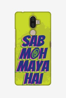 Amzer Sab Moh Maya Hai Hard Shell Designer Case For Lenovo K8 Note