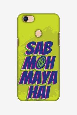 Amzer Sab Moh Maya Hai Hard Shell Designer Case For Oppo F5/F5 Youth