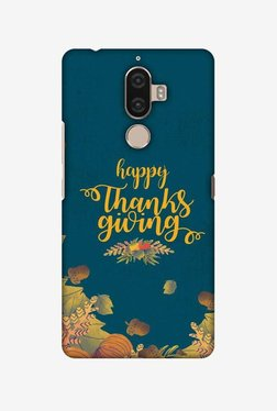 Amzer Floral Pattern Thanksgiving Hard Shell Designer Case For Lenovo K8 Note