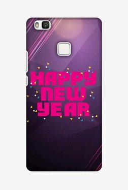 Amzer Happy New Year Designer Case For Huawei P9 Lite