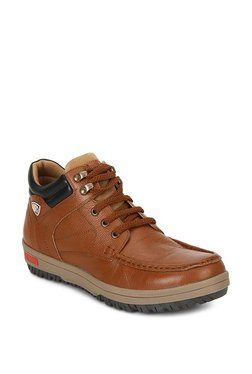 Red Chief Dark Tan Derby Shoes