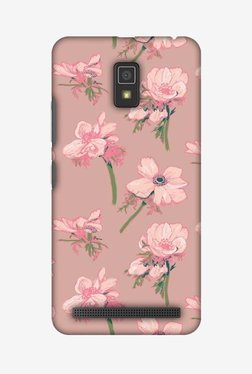 Amzer Floral Beauty Hard Shell Designer Case For Lenovo A6600/A6600 Plus