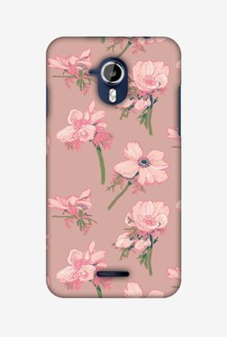 Amzer Floral Beauty Hard Shell Designer Case For Micromax Canvas Magnus