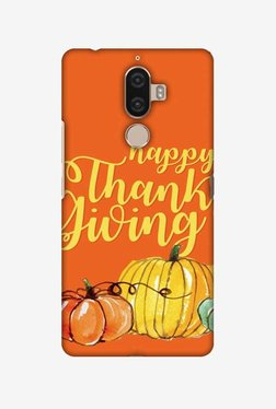 Amzer Pumpkin Pattern Thanksgiving Hard Shell Designer Case For Lenovo K8 Note