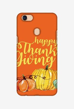 Amzer Pumpkin Pattern Thanksgiving Hard Shell Designer Case For Oppo F5/F5 Youth
