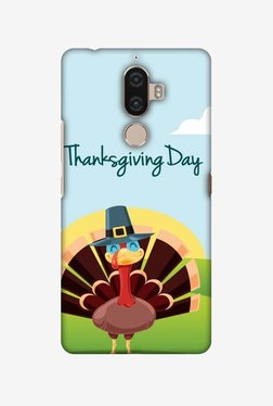 Amzer Wise Turkey 2 Thanksgiving Hard Shell Designer Case For Lenovo K8 Note