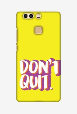 Amzer Dont Quit Hard Shell Designer Case For Huawei P9 Plus