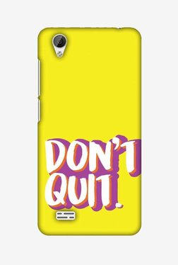 Amzer Dont Quit Hard Shell Designer Case For Vivo Y31