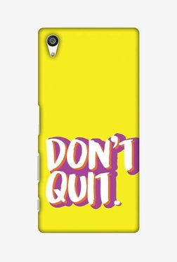 Amzer Dont Quit Hard Shell Designer Case For Sony Xperia Z5