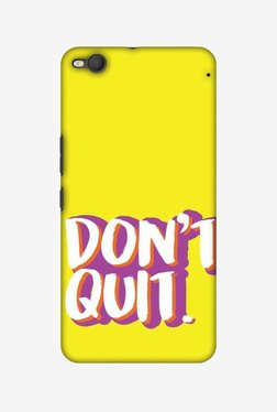 Amzer Dont Quit Hard Shell Designer Case For HTC One X9