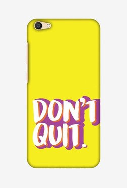 Amzer Dont Quit Hard Shell Designer Case For Vivo X7 Plus