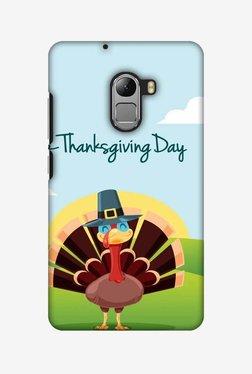 Amzer Wise Turkey 2 Thanksgiving Hard Shell Designer Case For Lenovo A7010/K4 Note