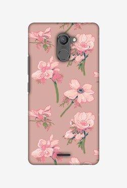 Amzer Floral Beauty Hard Shell Designer Case For Infinix Hot 4 Pro
