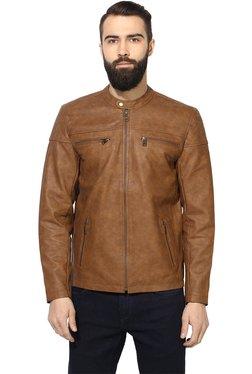 Red Tape Brown Regular Fit Jacket