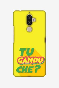 Amzer Tu Gandu Che Hard Shell Designer Case For Lenovo K8 Note