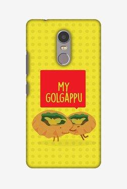 Amzer My Golgappu Hard Shell Designer Case For Lenovo K6 Note