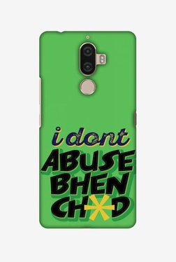 Amzer I Dont Abuse Hard Shell Designer Case For Lenovo K8 Note