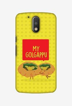 Amzer My Golgappu Hard Shell Designer Case For Moto G4 Play