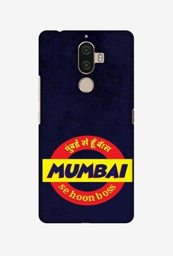 Amzer Mumbai Se Hu Boss Hard Shell Designer Case For Lenovo K8 Note