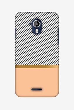 Amzer Stripe Away Hard Shell Designer Case For Micromax Canvas Magnus