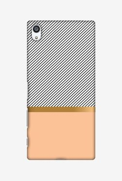 Amzer Stripe Away Hard Shell Designer Case For Sony Xperia Z5 Premium
