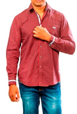 Red Chief Red Checks Shirt