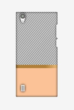 Amzer Stripe Away Hard Shell Designer Case For Vivo Y15/Y15S