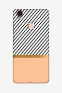 Amzer Stripe Away Hard Shell Designer Case For Vivo V3Max