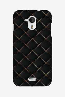 Amzer Golden Elegance Hard Shell Designer Case For Micromax Canvas HD