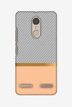 Amzer Stripe Away Hard Shell Designer Case For Lenovo K6/K6 Power