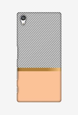 Amzer Stripe Away Hard Shell Designer Case For Sony Xperia Z5