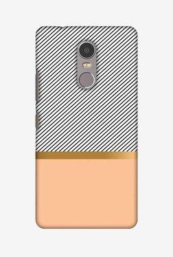 Amzer Stripe Away Hard Shell Designer Case For Lenovo K6 Note