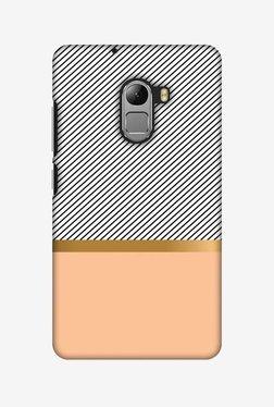 Amzer Stripe Away Hard Shell Designer Case For Lenovo A7010/K4 Note
