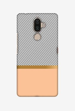 Amzer Stripe Away Hard Shell Designer Case For Lenovo K8 Note