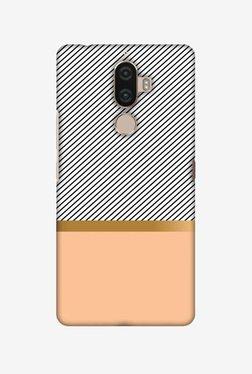 Amzer Stripe Away Hard Shell Designer Case For Lenovo K8 Note