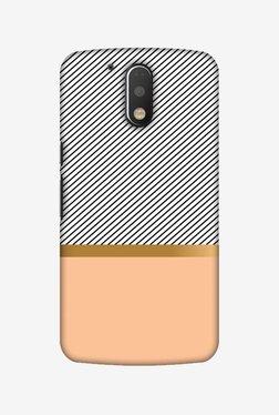 Amzer Stripe Away Hard Shell Designer Case For Moto G4 Play