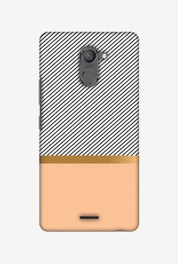 Amzer Stripe Away Hard Shell Designer Case For Infinix Hot 4 Pro