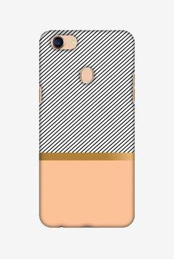 Amzer Stripe Away Hard Shell Designer Case For Oppo F5/F5 Youth