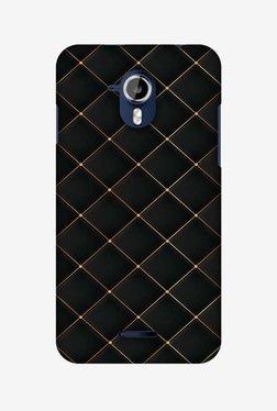 Amzer Golden Elegance Hard Shell Designer Case For Micromax Canvas Magnus