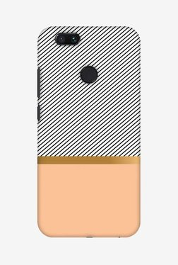 Amzer Stripe Away Hard Shell Designer Case For Mi A1/Mi 5X