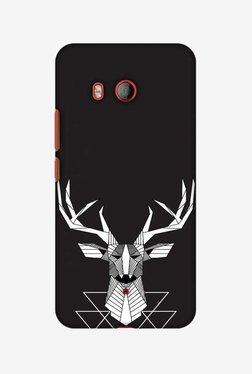 Amzer Geometric Deer Hard Shell Designer Case For HTC U11