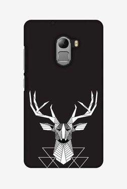 Amzer Geometric Deer Hard Shell Designer Case For Lenovo A7010/K4 Note