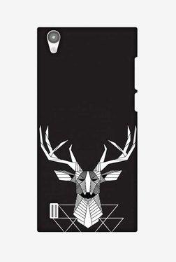 Amzer Geometric Deer Hard Shell Designer Case For Vivo Y15/Y15S