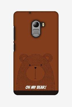 Amzer Bear Hard Shell Designer Case For Lenovo A7010/K4 Note