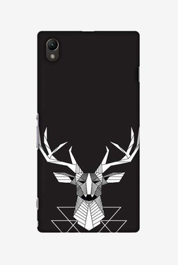 Amzer Geometric Deer Hard Shell Designer Case For Sony Xperia Z1 L39h